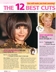 hair by gino in dallas, tx - first magazine